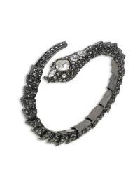 Kenneth Jay Lane | Multicolor Hematite Snake Bracelet | Lyst