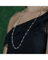 Sylva & Cie - Metallic Mammoth Bead Necklace - Lyst