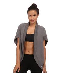 Trina Turk - Gray Quilted Kimono Jacket - Lyst