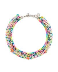 Venessa Arizaga | Multicolor 'beach Bum' Necklace | Lyst