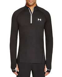 Under Armour | Black Launch Quarter Zip Pullover Running Top for Men | Lyst