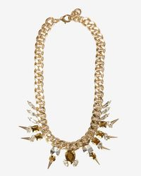Fallon | Metallic Exclusive Classique Chain Necklace | Lyst