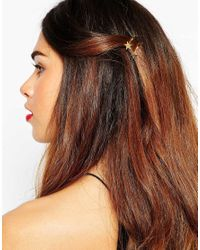 ASOS - Metallic Pack Of 6 After Party Star Hair Clips - Lyst