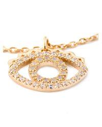 KENZO | Metallic 'Eye' Bracelet | Lyst