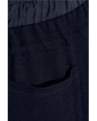 CLU - Blue Knitted Track Pants - Lyst
