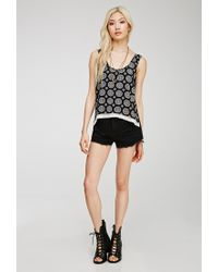 6023e78aa50b41 Forever 21. Women s Black Medallion Print Tank Top You ve Been Added To The  Waitlist