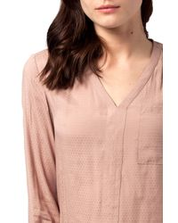 Tommy Hilfiger | Pink Clementine Blouse | Lyst