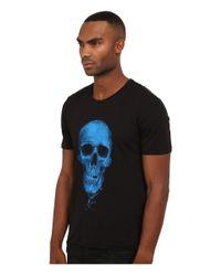 The Kooples - Blue Tencel Cotton Jersey T-shirt for Men - Lyst