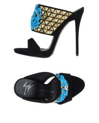 Giuseppe Zanotti - Blue Sandals - Lyst