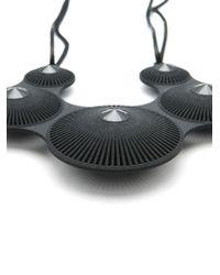 Vojd Studios - Black 'Quintuple' Necklace - Lyst