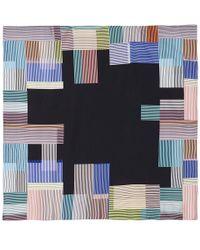 Paul Smith - Black Miami Silk Scarf - Lyst