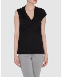 Ralph Lauren Black Label - Black Cashmere Sweater - Lyst