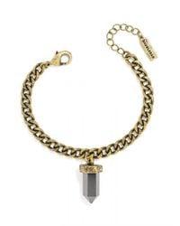 BaubleBar | Gray Mini Quartz Bracelet | Lyst