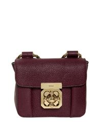 Chloé - Purple Elsie Grained Leather Shoulder Bag - Lyst