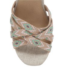 Lucky Brand - Natural Mahima Wedge Sandals - Lyst