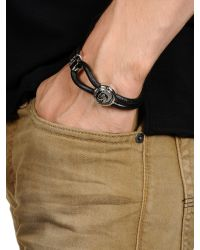 DIESEL | Black Bracelet for Men | Lyst