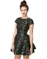 Nasty Gal - Metallic Keepsake The Adventure Brocade Dress - Lyst