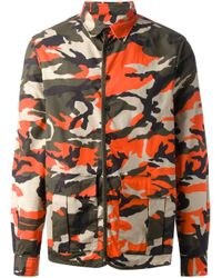 DSquared² | Multicolor Camouflage Jacket for Men | Lyst