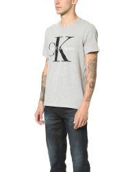 Calvin Klein Jeans - Gray Ck Jeans Reissue Tee for Men - Lyst