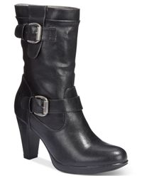 Rialto | Black Pasedena Dress Booties | Lyst