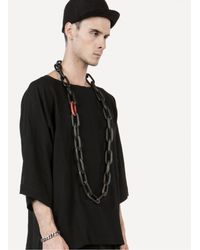 Parts Of 4   Black Wood + Coral Large Organic Chain for Men   Lyst