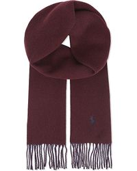 Ralph Lauren | Red Classic Reversible Scarf - For Men for Men | Lyst