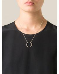 Pamela Love - Metallic 'orbit' Pendant Necklace - Lyst