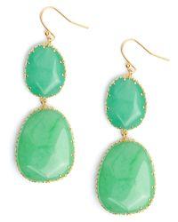 BaubleBar | Green Boho Drops | Lyst