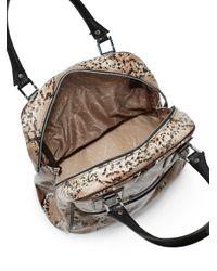 Longchamp - Multicolor Pythonembossed Leather Shopper - Lyst