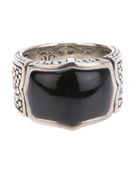 Stephen Webster - Metallic Chunky Engraved Ring for Men - Lyst