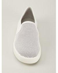 Vince - White 'Preston' Sneakers - Lyst