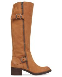 Lucky Brand | Brown Women's Hoxy Tall Shaft Boots | Lyst