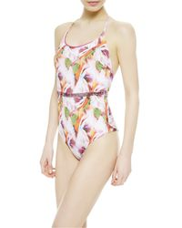 La Perla | White Non-wired Swimsuit | Lyst
