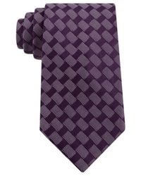 Sean John | Purple Rectangle Neat Tie for Men | Lyst
