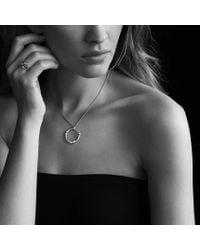 David Yurman   Confetti Threerow Ring with Blue Topaz Iolite and Diamonds   Lyst