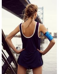 Free People | Blue Fp Movement Womens Throwback Tank | Lyst