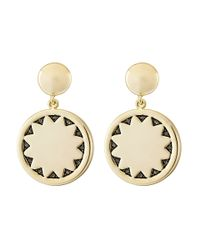 House of Harlow 1960 | Metallic Incan Sun Coin Drop Earrings | Lyst