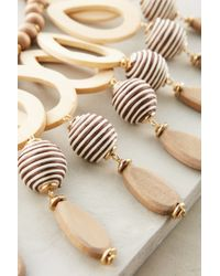 Anthropologie | Natural Dovetail Bib Necklace | Lyst