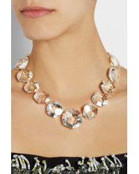 Ippolita - Metallic Gemma Drama 18karat Gold Quartz Necklace - Lyst