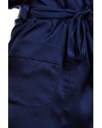 Araks - Blue Madeline Short Robe - Lyst