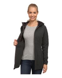 The North Face | Gray Hooded Caroluna Jacket | Lyst