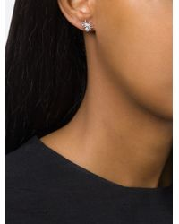 Wouters & Hendrix | Metallic Spider Diamond Stud Set Of Earrings | Lyst