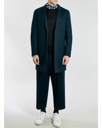 TOPMAN | Lux Black Side Zip Sweatshirt for Men | Lyst