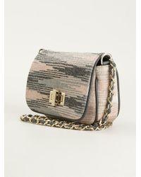 M Missoni - Gray Cross Body Bag - Lyst