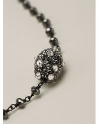 Roni Blanshay | Black Beaded Necklace | Lyst