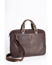 Boconi - Brown Briefcase for Men - Lyst