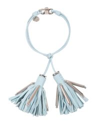 Dorothee Schumacher | Blue Tassel Addiction Tassle Bracelet | Lyst