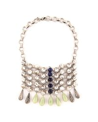 DANNIJO | Metallic Snow Necklace | Lyst