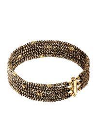 Annoushka - Brown Alchemy Six Row Bracelet - Lyst