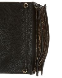 Guess | Black Frankee Crossbody Clutch | Lyst